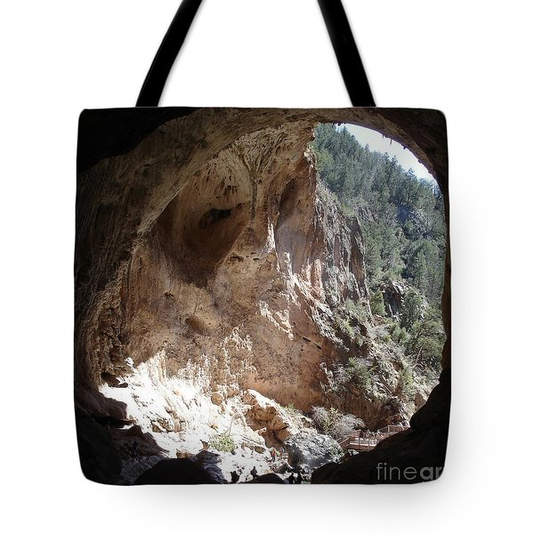 Natural Bridge View Tote Bag
