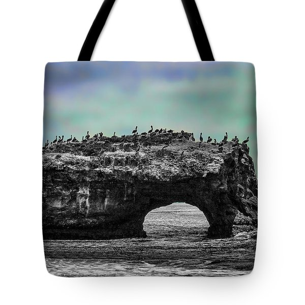 Natural Bridges State Beach Tote Bag