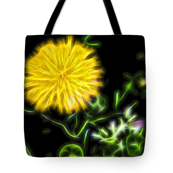 Natural Electric Beauty Tote Bag