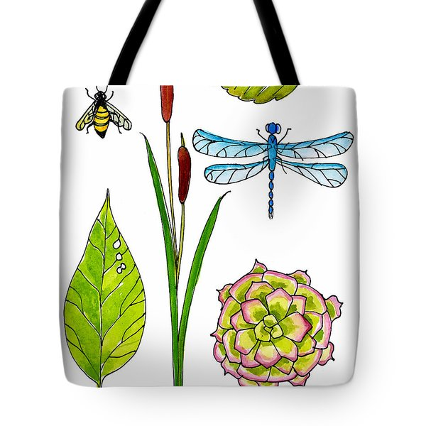 Natural History By The Pond Tote Bag