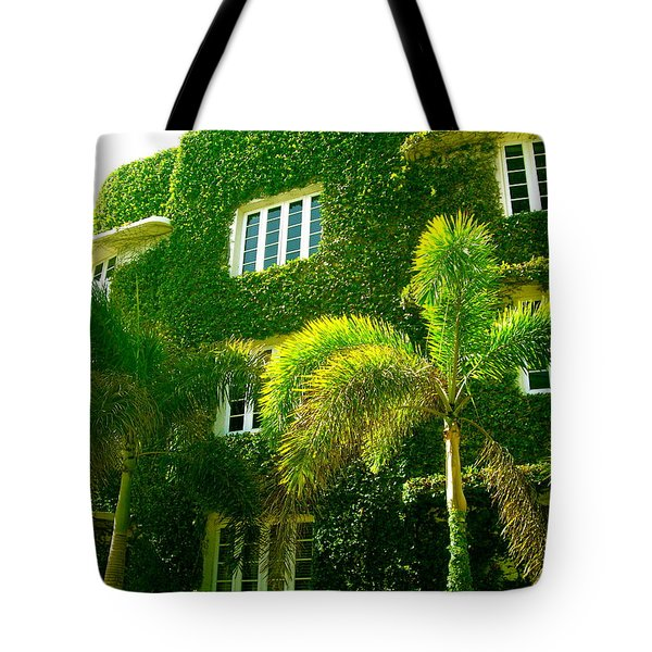 Natural Ivy House Tote Bag