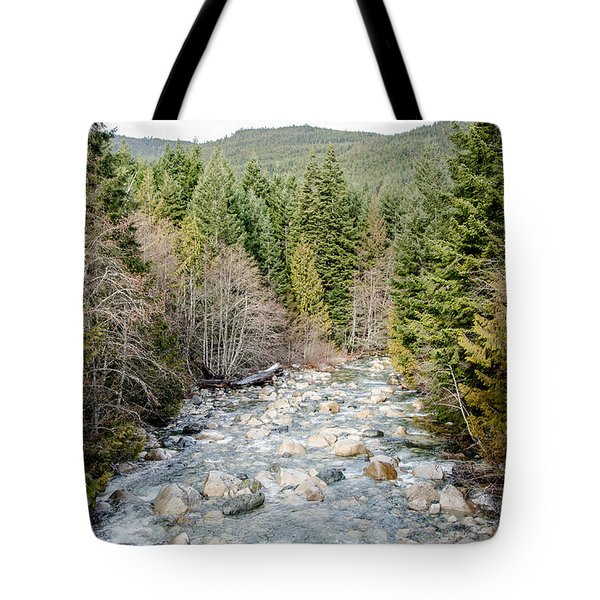 Island Stream Tote Bag