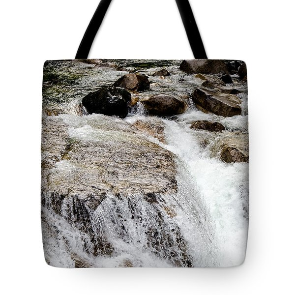 Backroad Waterfall Tote Bag
