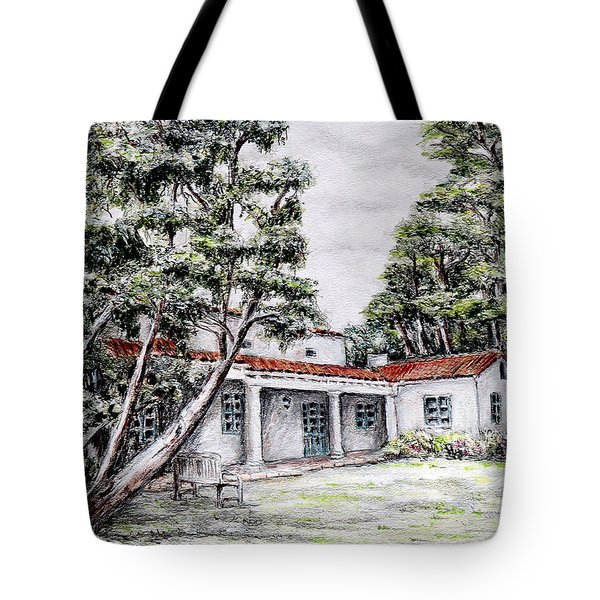 Nature And Architecture Tote Bag by Danuta Bennett