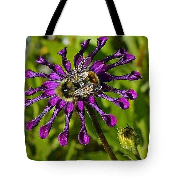 Nature At Work Tote Bag