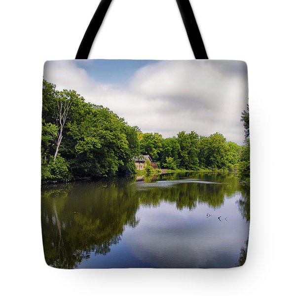 Nature Center On Salt Creek Tote Bag by Thomas Woolworth