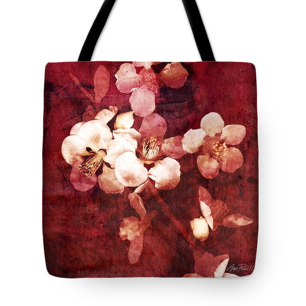 Nature Flowers Blossom Time  Tote Bag by Ann Powell