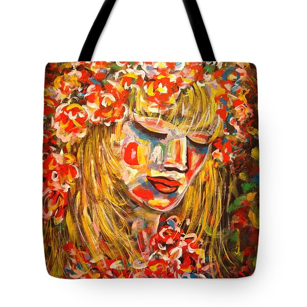 Nature Girl Tote Bag by Natalie Holland