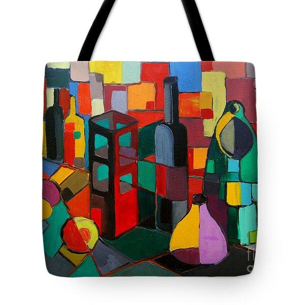 Nature Morte Cubiste Tote Bag