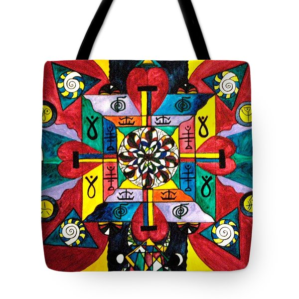 Nature Of Healing Tote Bag