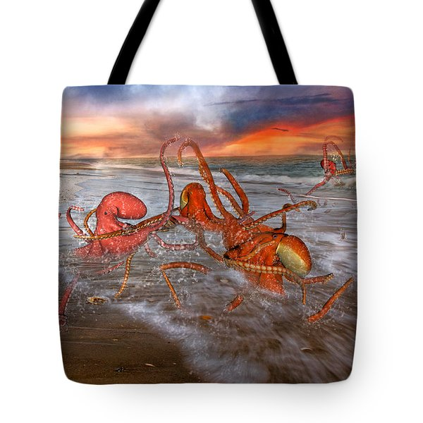Nature Of The Game Tote Bag by Betsy Knapp