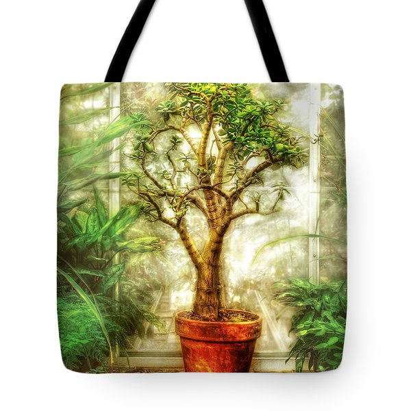 Nature - Plant - Tree Of Life  Tote Bag by Mike Savad