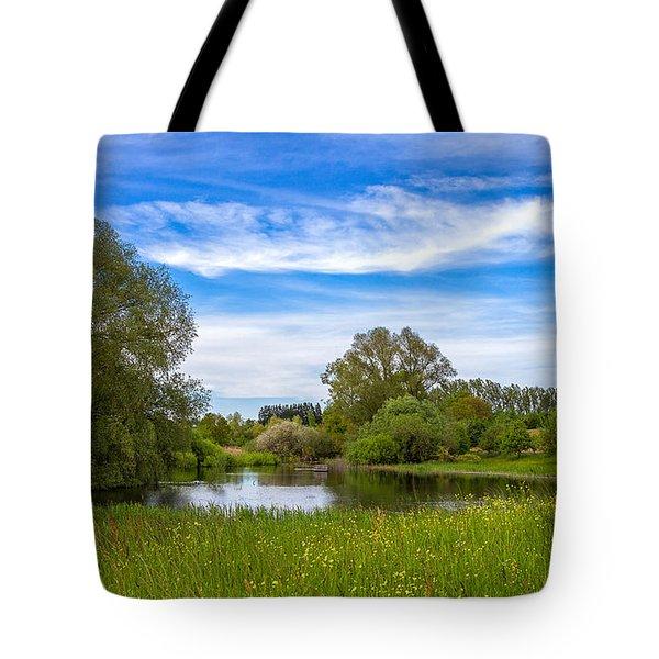 Tote Bag featuring the photograph Nature Preserve Segete by Bernd Laeschke