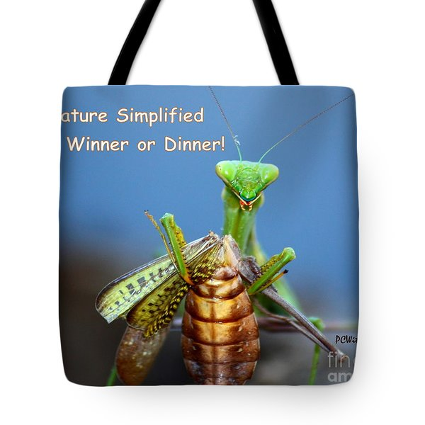 Nature Simplified Tote Bag