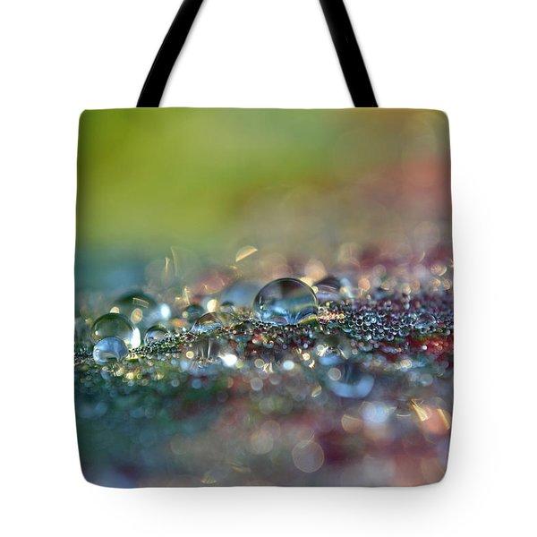 Nature Sparkles Tote Bag by Melanie Moraga
