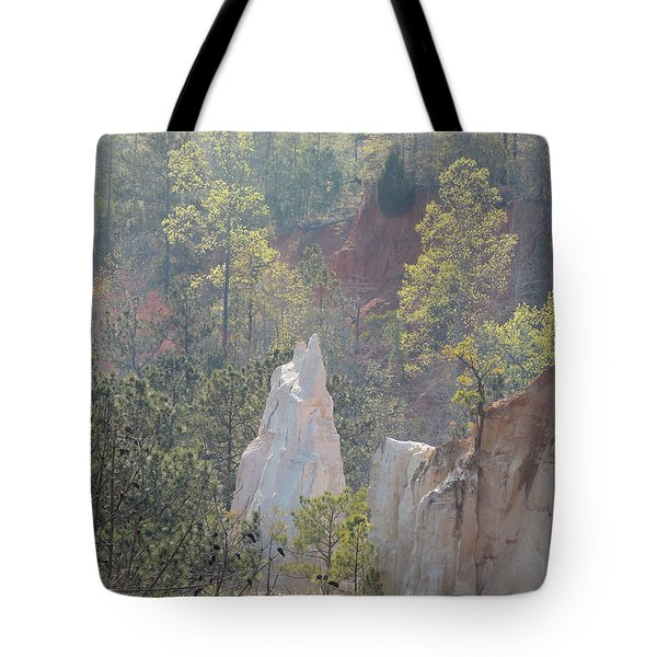 Nature Struggles Tote Bag by Kim Pate