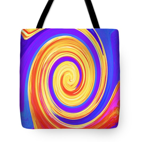 Nature Twirling Tote Bag by Margaret Saheed