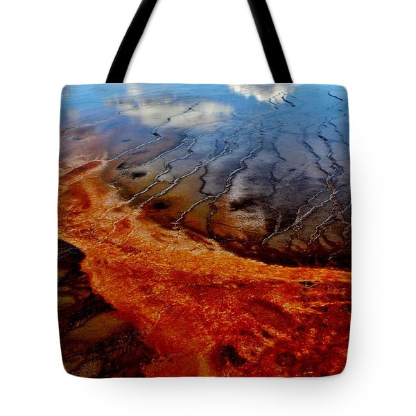 Tote Bag featuring the photograph Natureprint by Benjamin Yeager