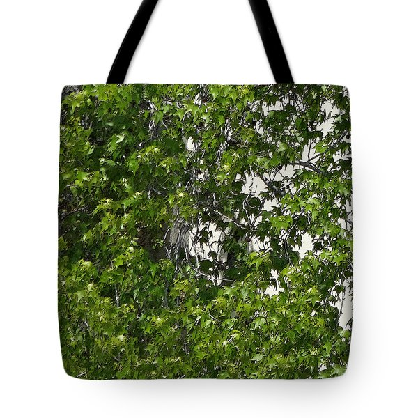 Nature's Art - Wellness Works Glendale - Face In The Tree  Tote Bag