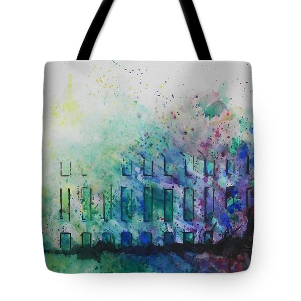 Natures Blend Tote Bag by Chrisann Ellis