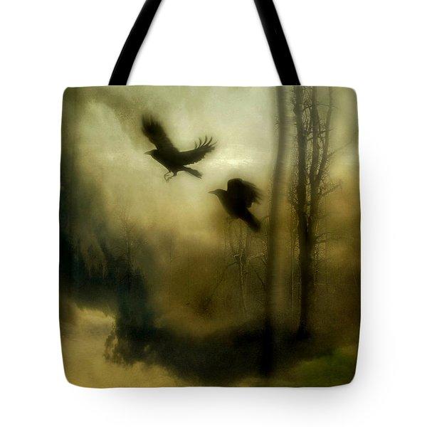 Nature's Blur Tote Bag
