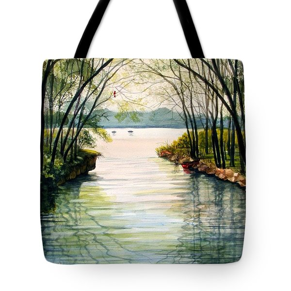 Nature's Cathedral Tote Bag by Marilyn Smith