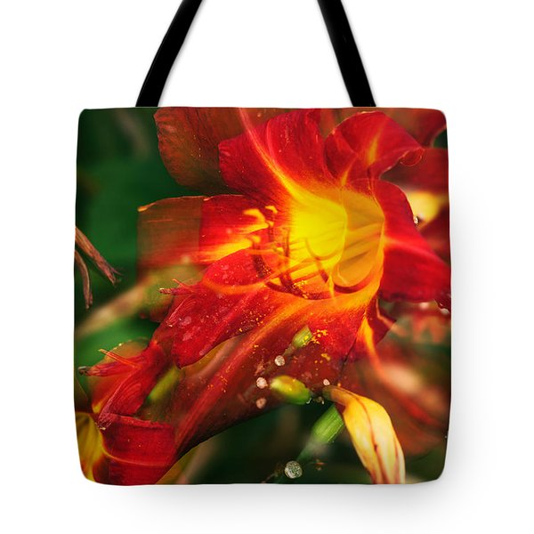 Natures Color Fury Tote Bag