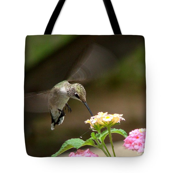 Nature's Dinner Tote Bag by Linda Cox