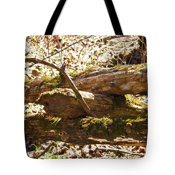 Tote Bag featuring the photograph Natures Fence by Nick Kirby