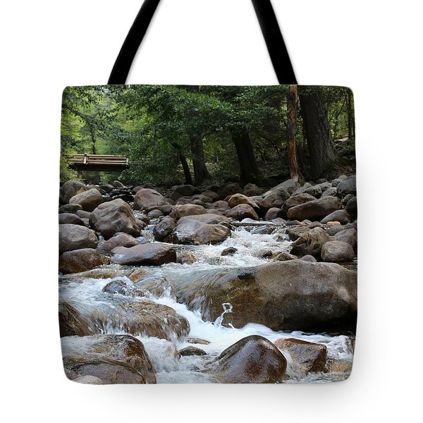 Nature's Flow  Tote Bag