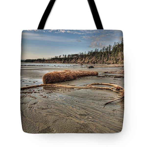 Natures Garbage Tote Bag by James Wheeler