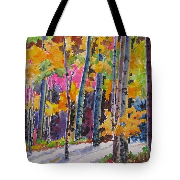 Nature's Glory Tote Bag by Mohamed Hirji