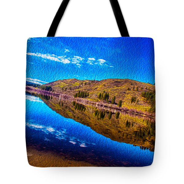 Natures Guitar Tote Bag by Omaste Witkowski