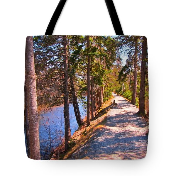 Natures Highway Tote Bag by John Malone
