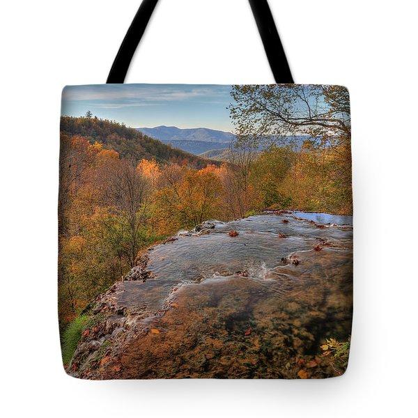 Nature's Infinity Pool Tote Bag