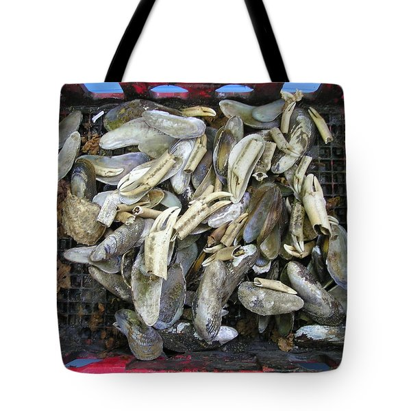 Nature's Junk Tote Bag by Roger Swezey