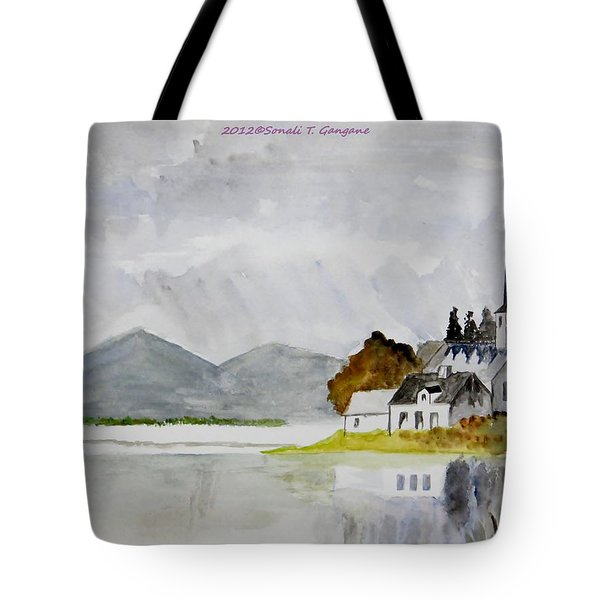 Nature's Painting Tote Bag by Sonali Gangane