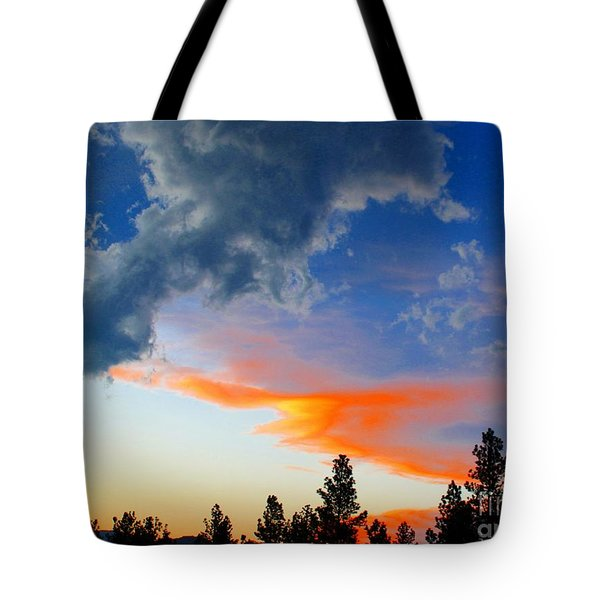Nature's Palette Tote Bag by Barbara Chichester