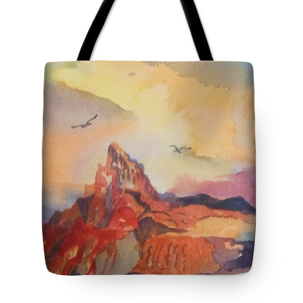 Natures Palette Tote Bag by Ellen Levinson