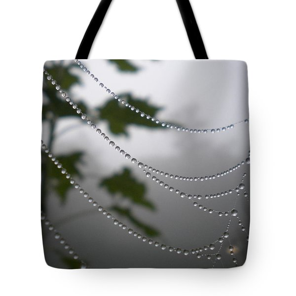 Tote Bag featuring the photograph Nature's Pearls by Diannah Lynch