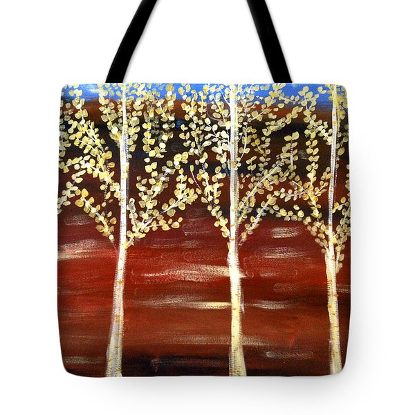 Natures Poetry Tote Bag