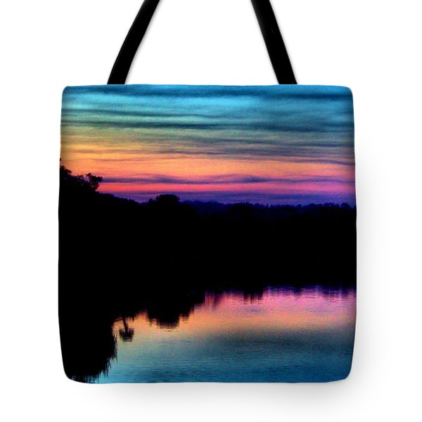 Nature's Rainbow Tote Bag