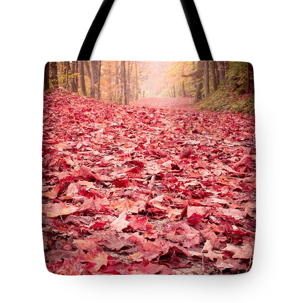 Nature's Red Carpet Revisited Tote Bag by Edward Fielding