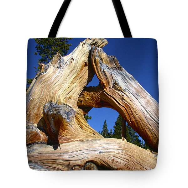 Nature's Triangle Tote Bag