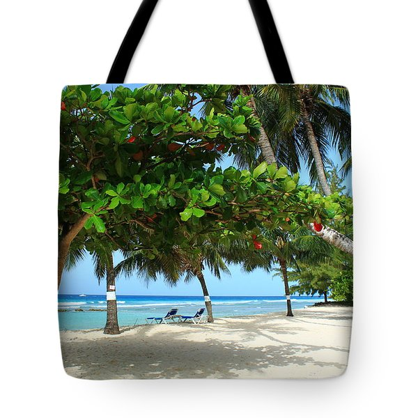 Natures Umbrella Tree Tote Bag