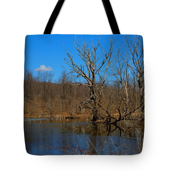 Nature's Wasteland Tote Bag