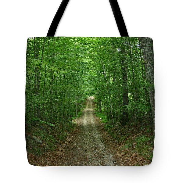 Nature's Way At James L. Goodwin State Forest  Tote Bag by Neal Eslinger