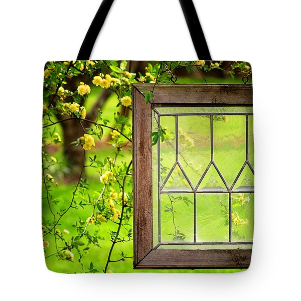 Tote Bag featuring the photograph Nature's Window by Greg Simmons