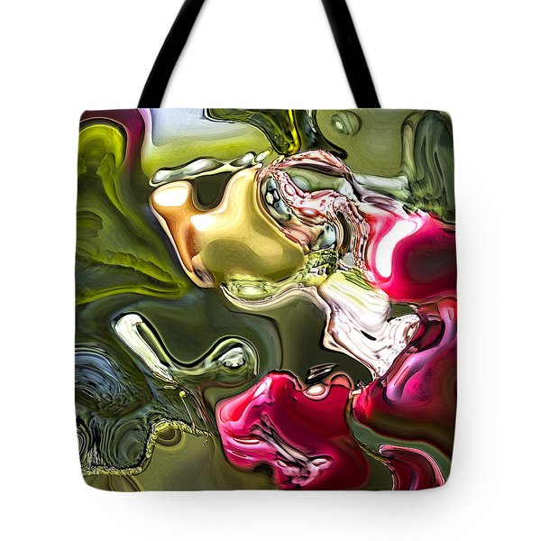 Tote Bag featuring the painting Naturescape by Richard Thomas
