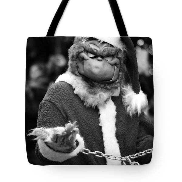 Naughty Grinch  Tote Bag